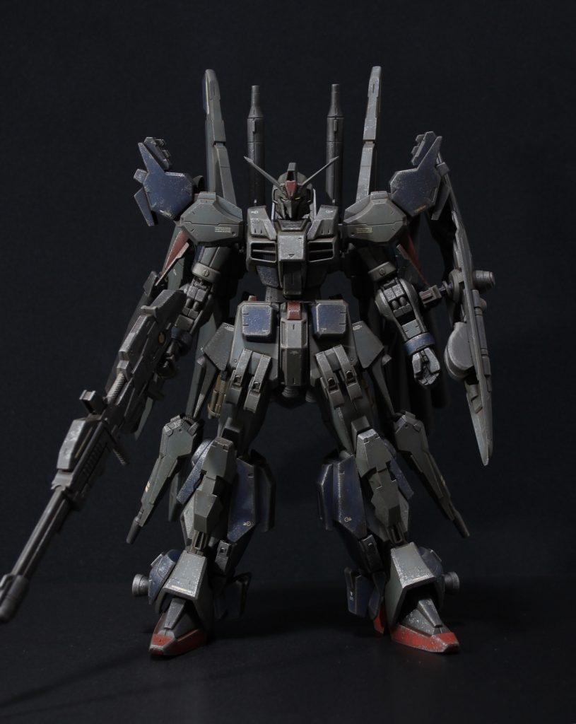 RE/100 強化型ガンダムMk-III アピールショット1