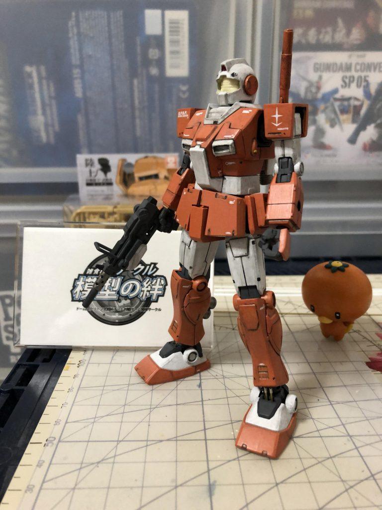 RGM-79L ジム・ライトアーマー 制作工程8