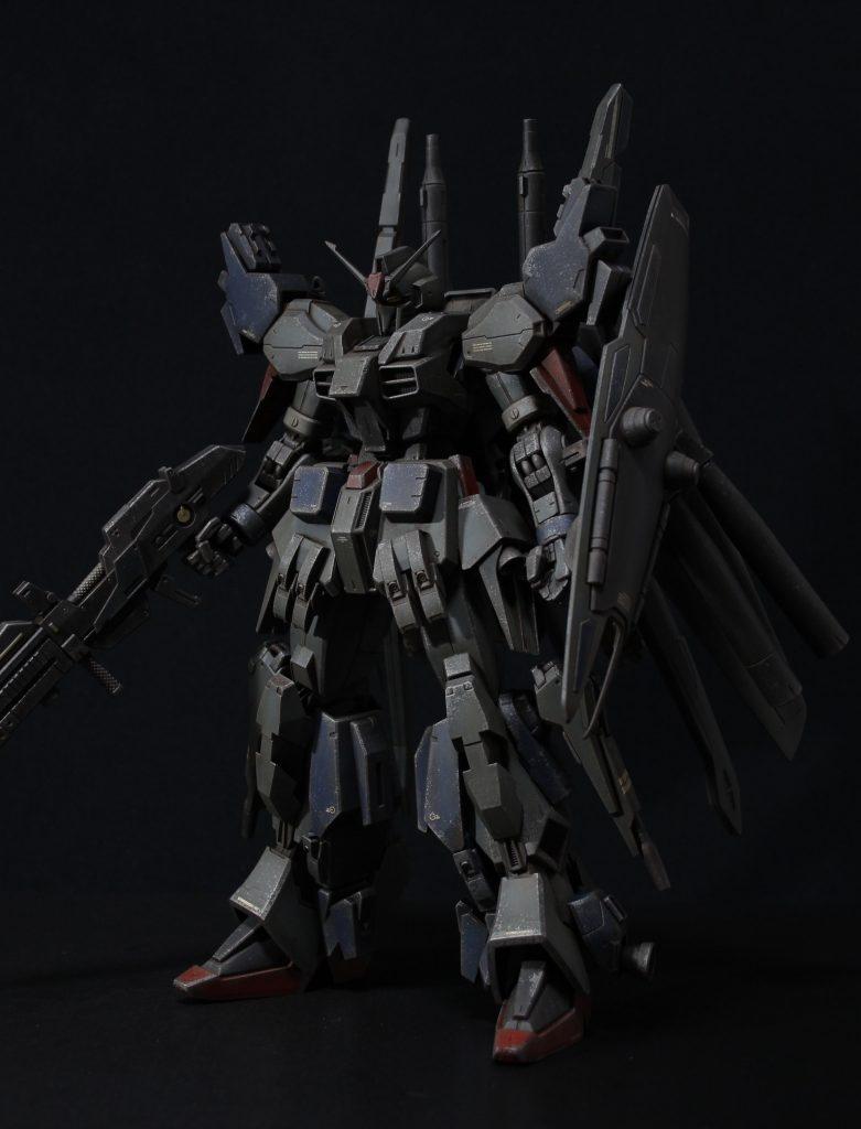 RE/100 強化型ガンダムMk-III アピールショット3