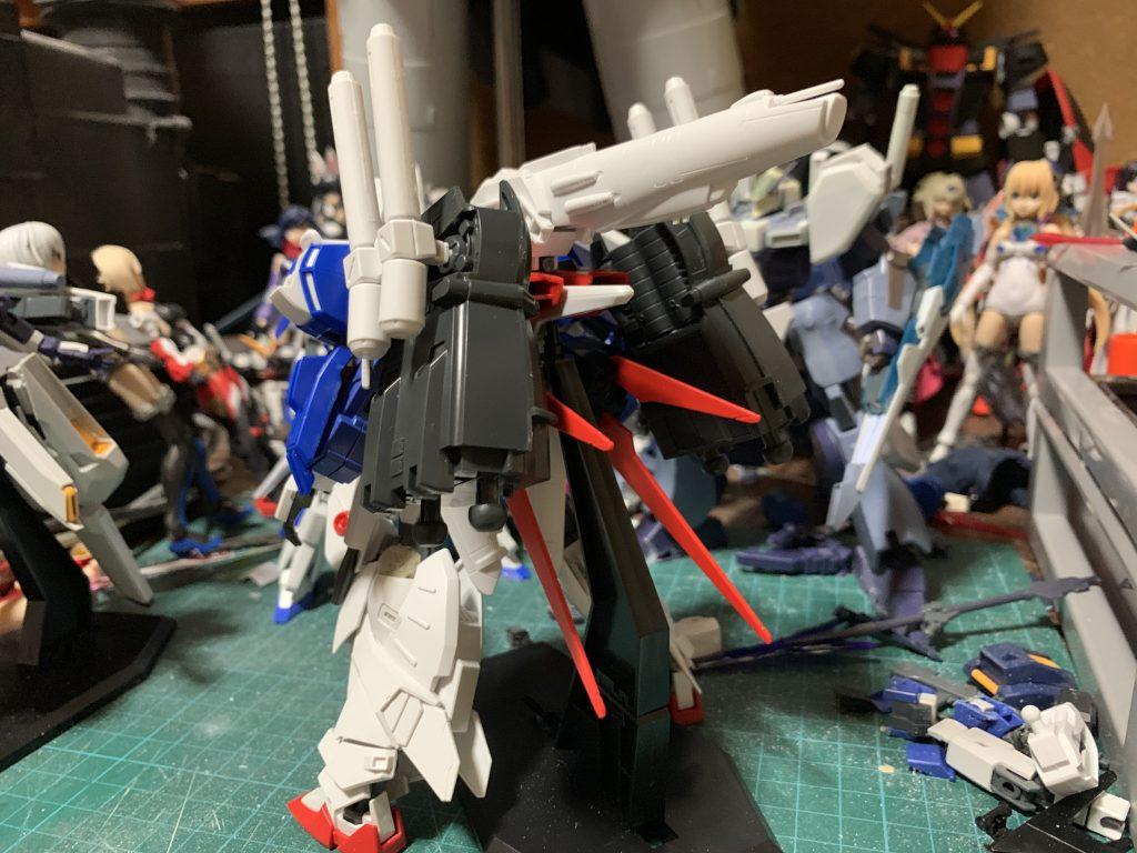 EX-ストライクガンダム 制作工程3