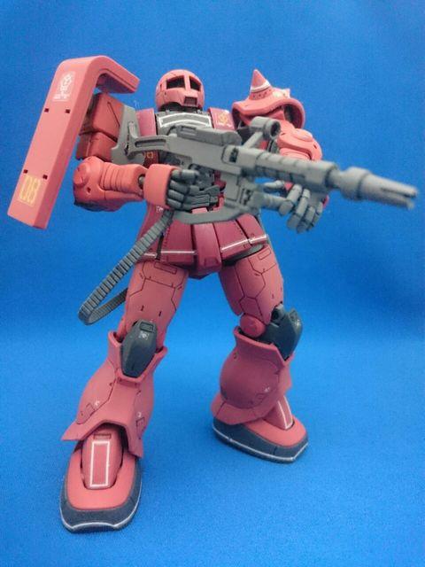HG THE ORIGIN MS-05S シャア専用ザクI