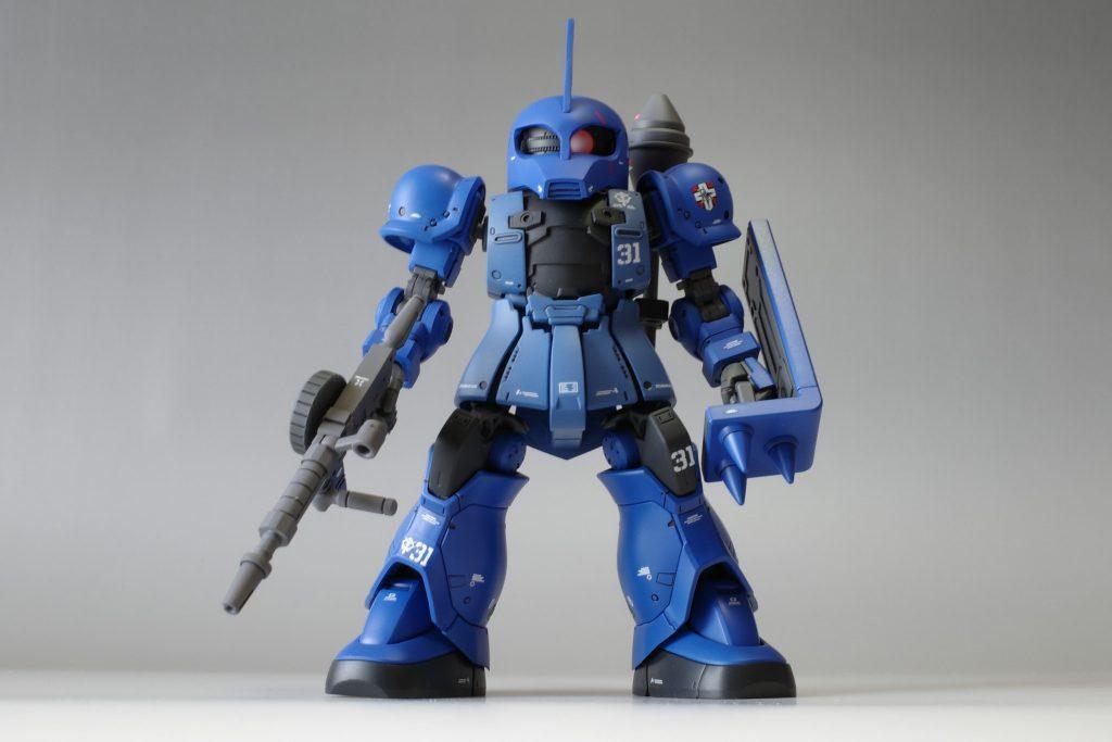 SD ランバ・ラル専用ザクⅠ アピールショット1