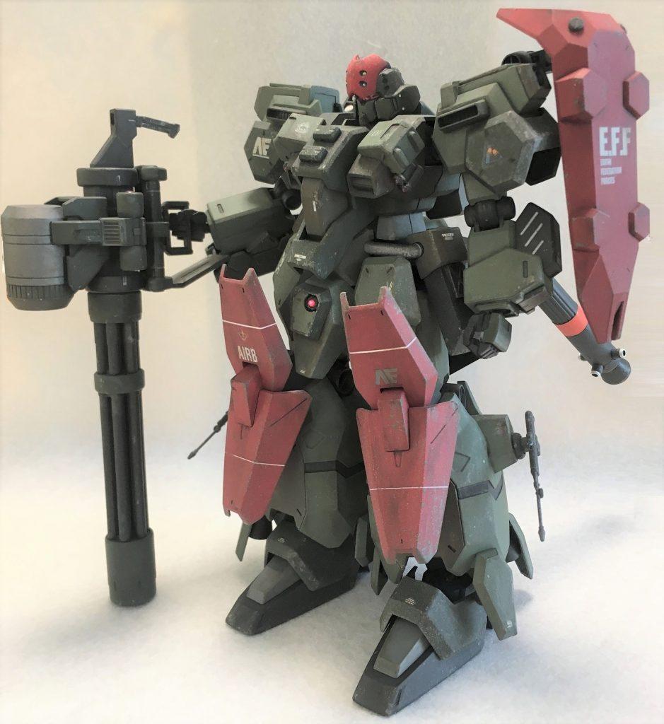 グスタフ・カール重装型Ⅱ アピールショット1