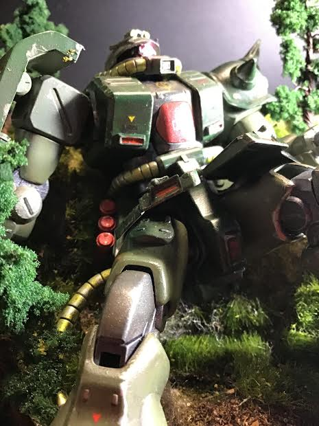 0080 ポケ戦 ザクⅡ FZ  バーニーザクロールアウトから最後闘いまで(T_T) 制作工程5