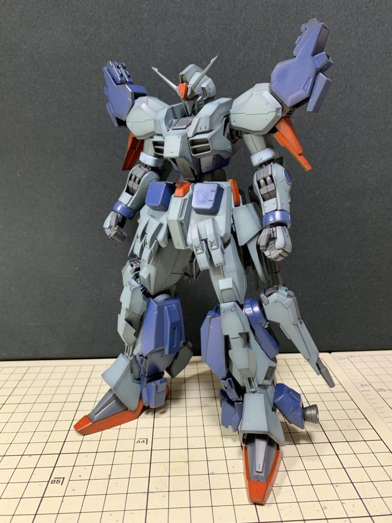 RE/100 強化型ガンダムMk-III 制作工程2