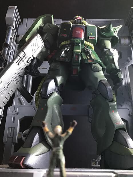 0080 ポケ戦 ザクⅡ FZ  バーニーザクロールアウトから最後闘いまで(T_T) アピールショット1