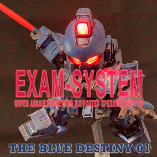 The Blue Destiny 01 – EXAM SYSTEM