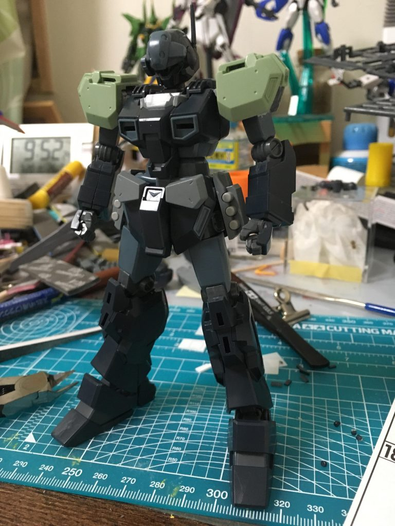 ジェスタ(コロニー防衛隊仕様) 制作工程3