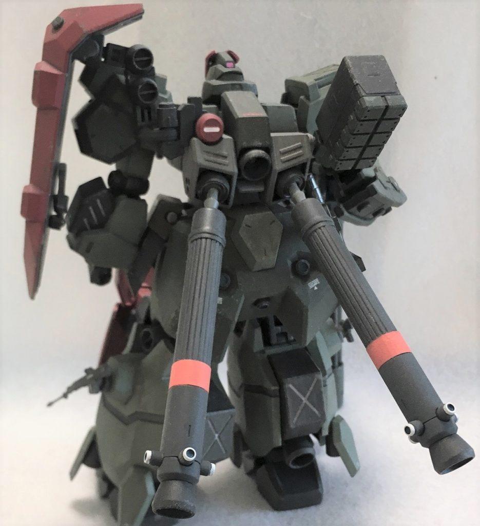 グスタフ・カール重装型Ⅱ アピールショット2