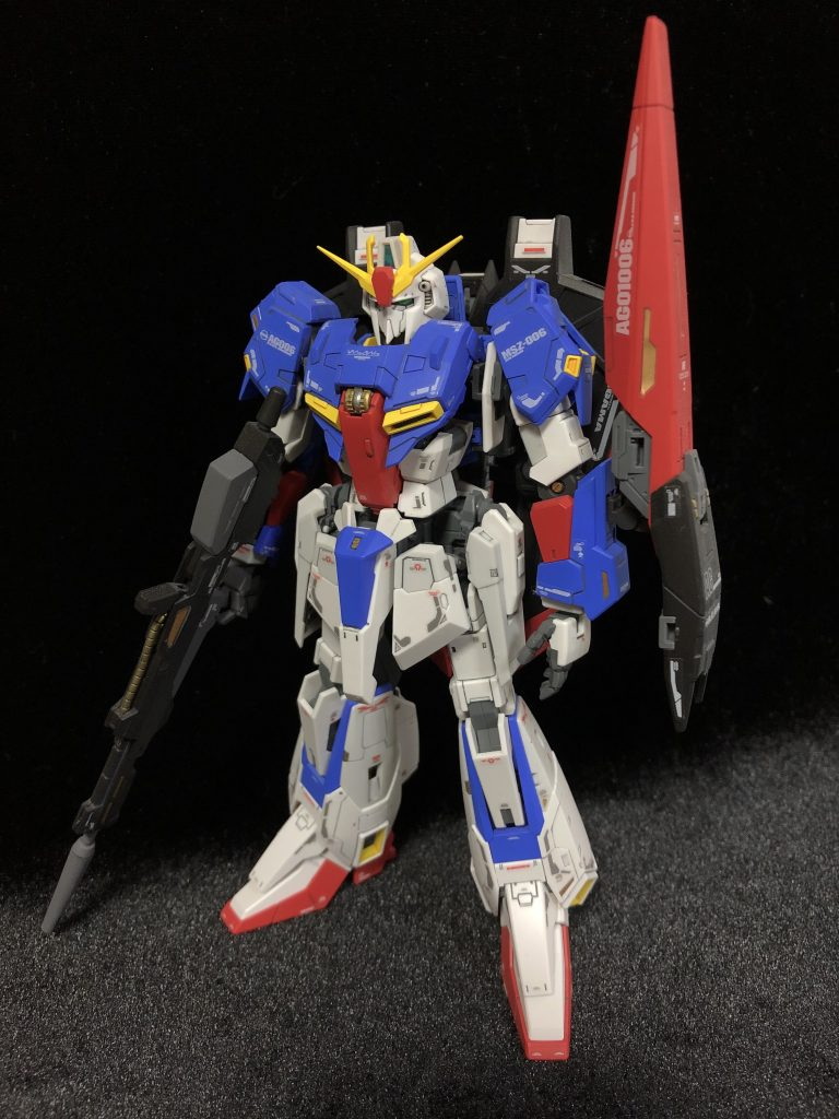 RG MSZ-006 Zガンダム アピールショット1