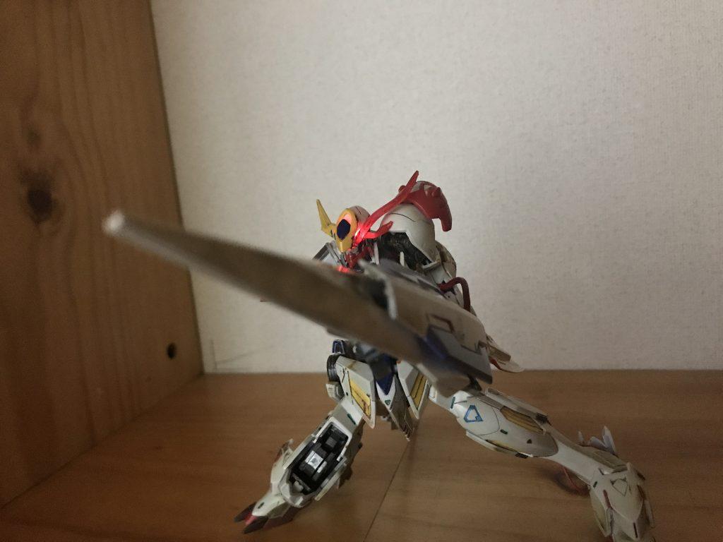 ガンダムバルバトスルプス~IF weapon~ 制作工程3