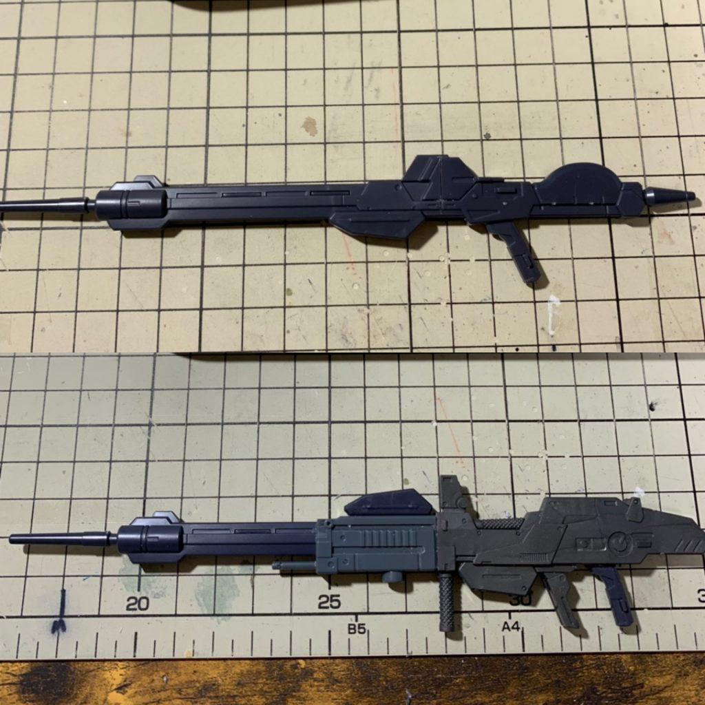 RE/100 強化型ガンダムMk-III 制作工程5