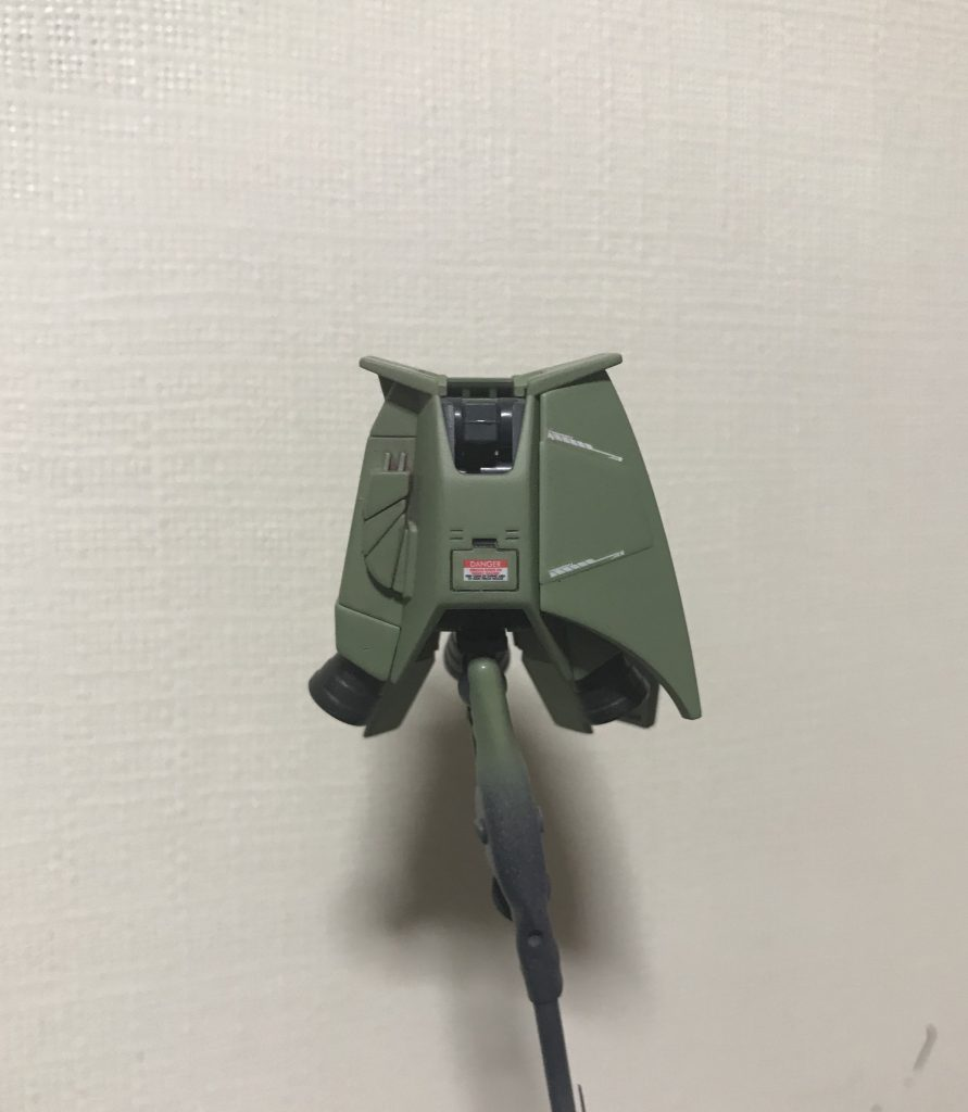 HG F2-06R-2 ザク 【Original Mixing】 制作工程3