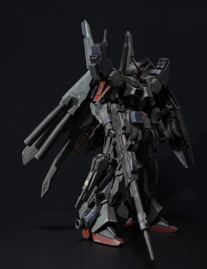 RE/100 強化型ガンダムMk-III アピールショット2
