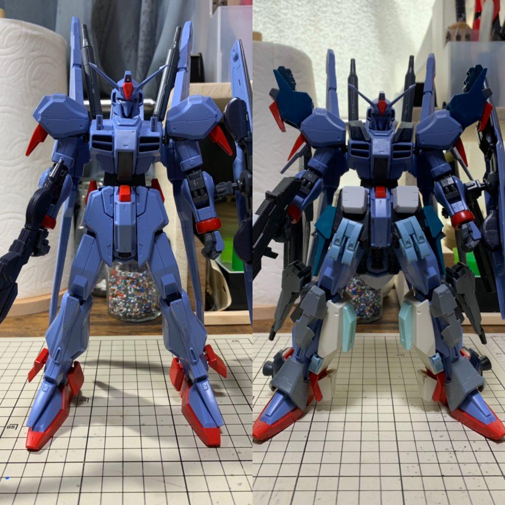 RE/100 強化型ガンダムMk-III 制作工程6