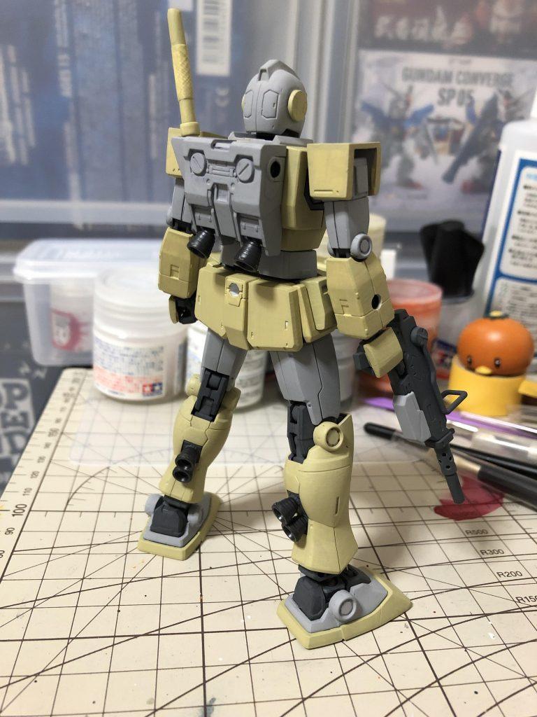 RGM-79L ジム・ライトアーマー 制作工程4