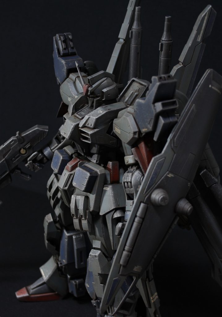 RE/100 強化型ガンダムMk-III アピールショット7