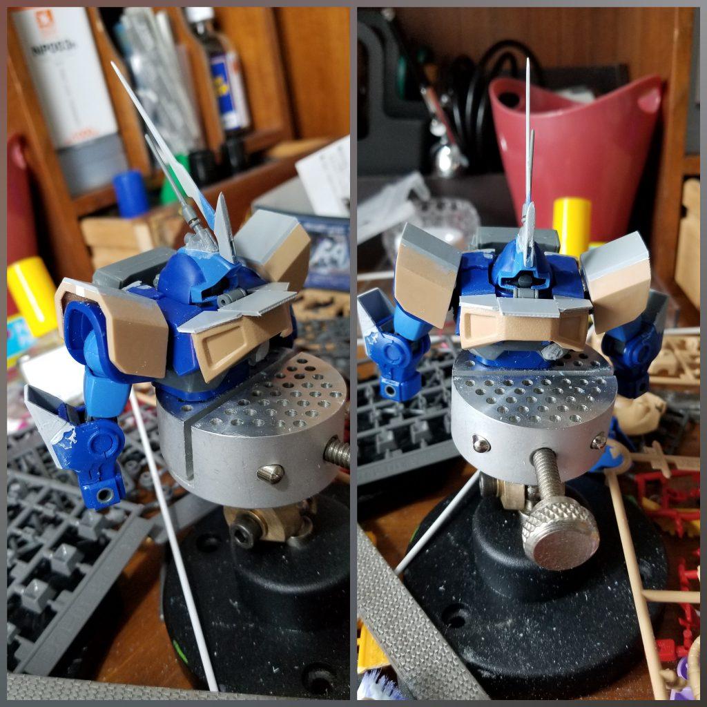 プロトタイプドム 高機動型テストタイプ 制作工程7