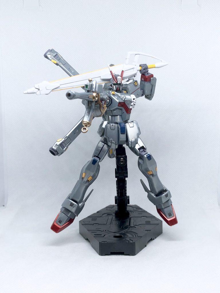 HGUC クロスボーン・ガンダムX-0 制作工程2