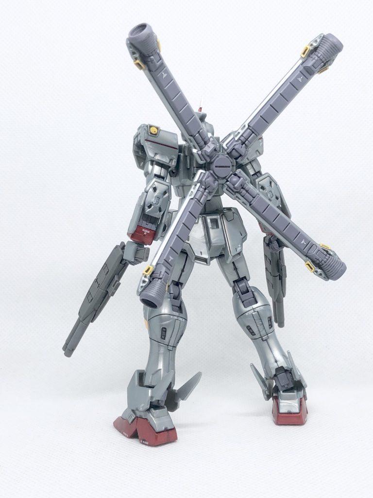 HGUC クロスボーン・ガンダムX-0 アピールショット2