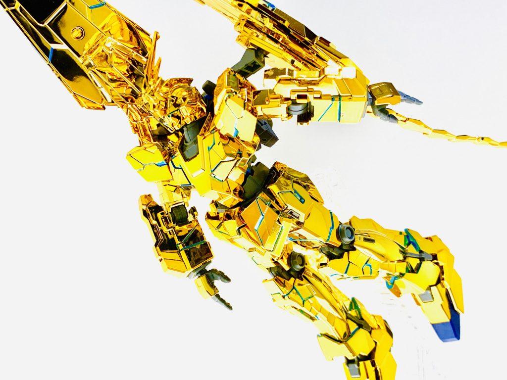 【彷徨えるリタ】ユニコーンガンダム3号機 フェネクス(ユニコーンモード) アピールショット5