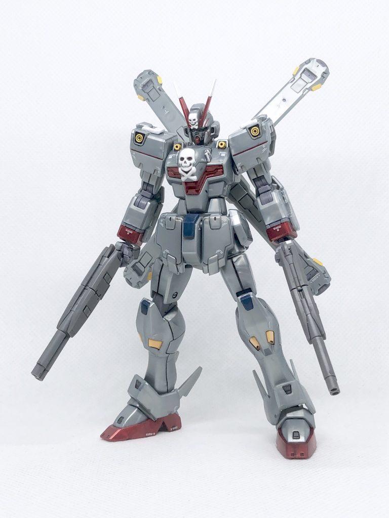HGUC クロスボーン・ガンダムX-0 アピールショット1