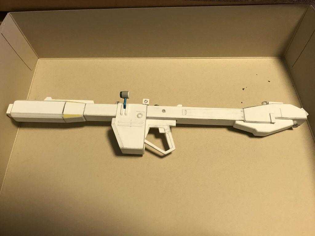 旧キット 1/60 シァア専用リックドム 制作工程5