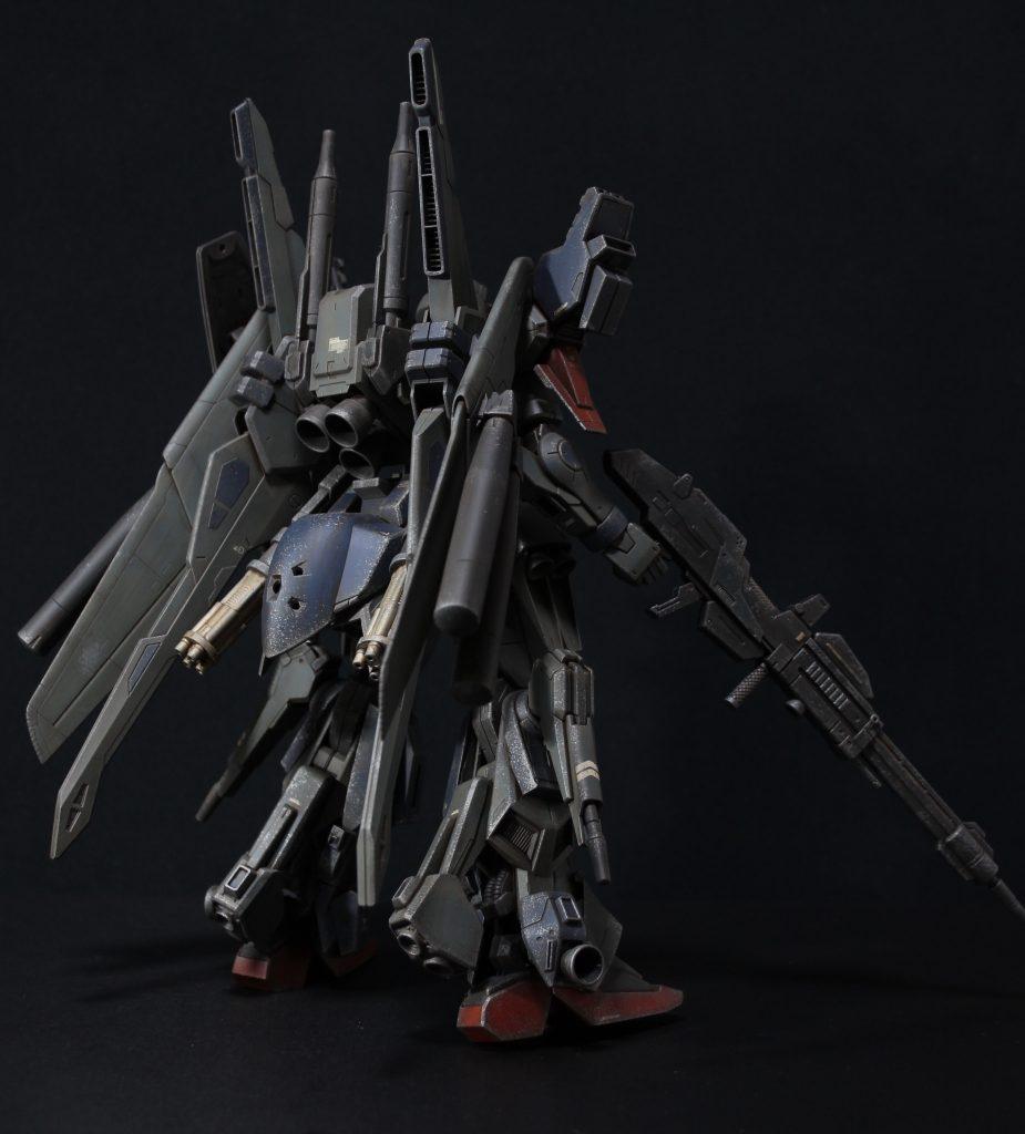 RE/100 強化型ガンダムMk-III アピールショット5