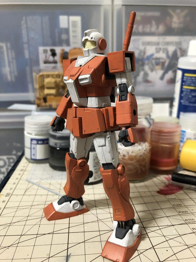 RGM-79L ジム・ライトアーマー 制作工程7
