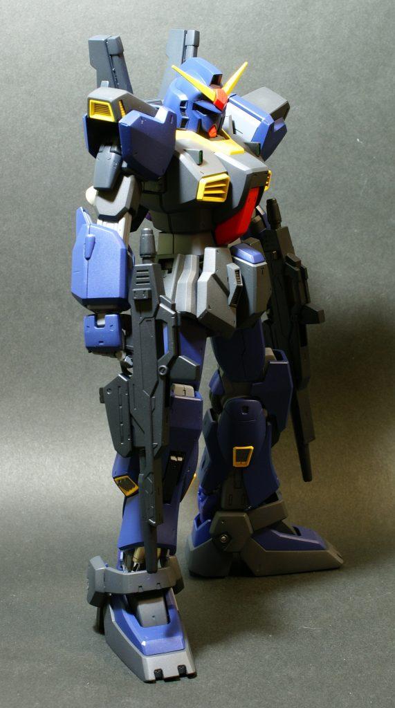 ビルドガンダム MKⅡ ティターンズ Ver.アヤメ with ダイバーアヤメティターンズメイドVer アピールショット6