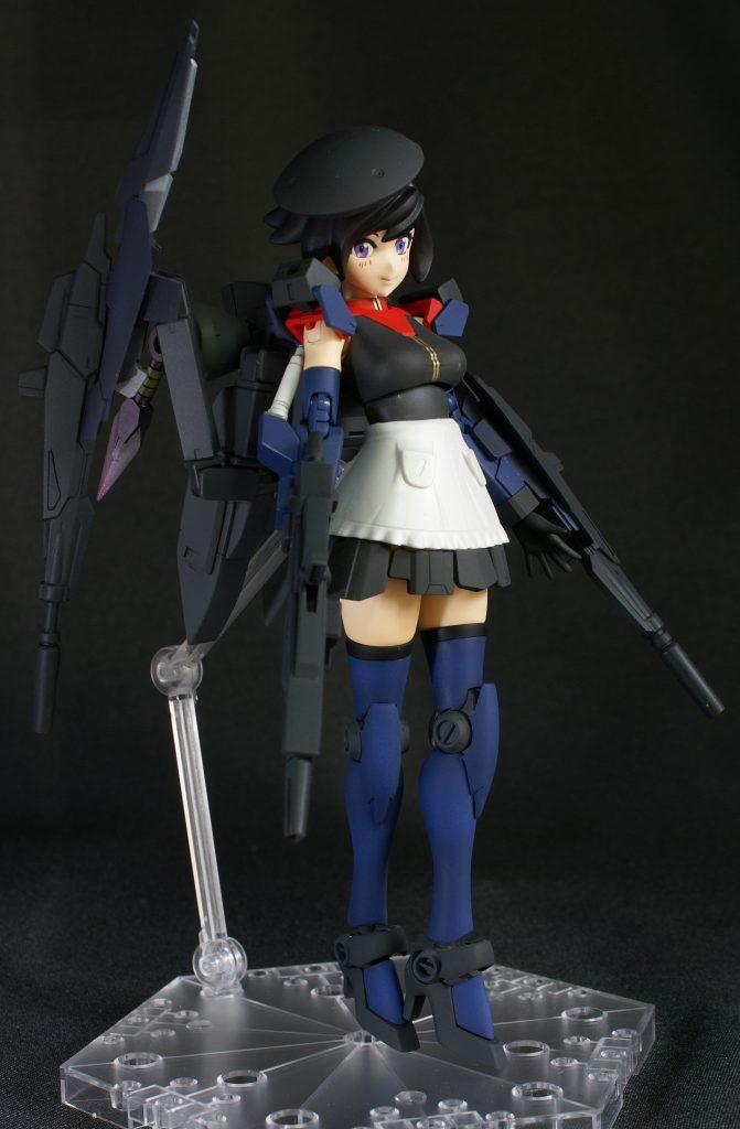ビルドガンダム MKⅡ ティターンズ Ver.アヤメ with ダイバーアヤメティターンズメイドVer アピールショット2