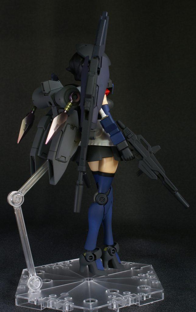 ビルドガンダム MKⅡ ティターンズ Ver.アヤメ with ダイバーアヤメティターンズメイドVer アピールショット3