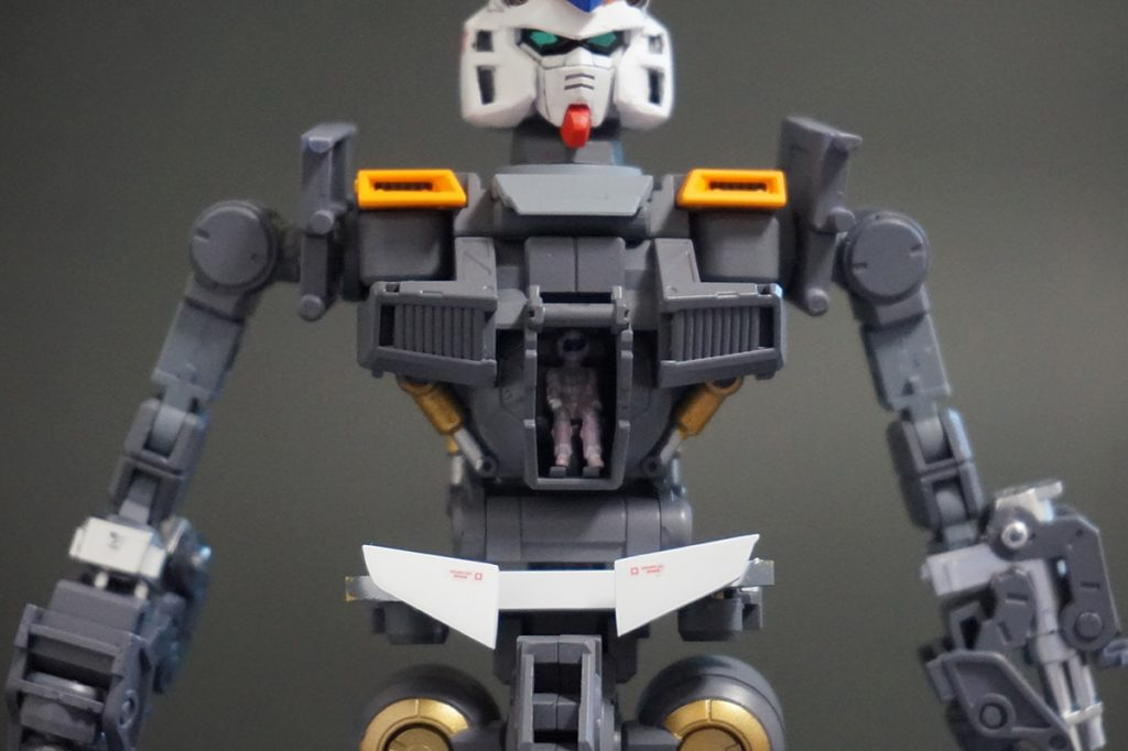MG ガンダムAN-01 トリスタン 【MG ガンダムNT-1 Ver.2.0 改造品】 アピールショット4