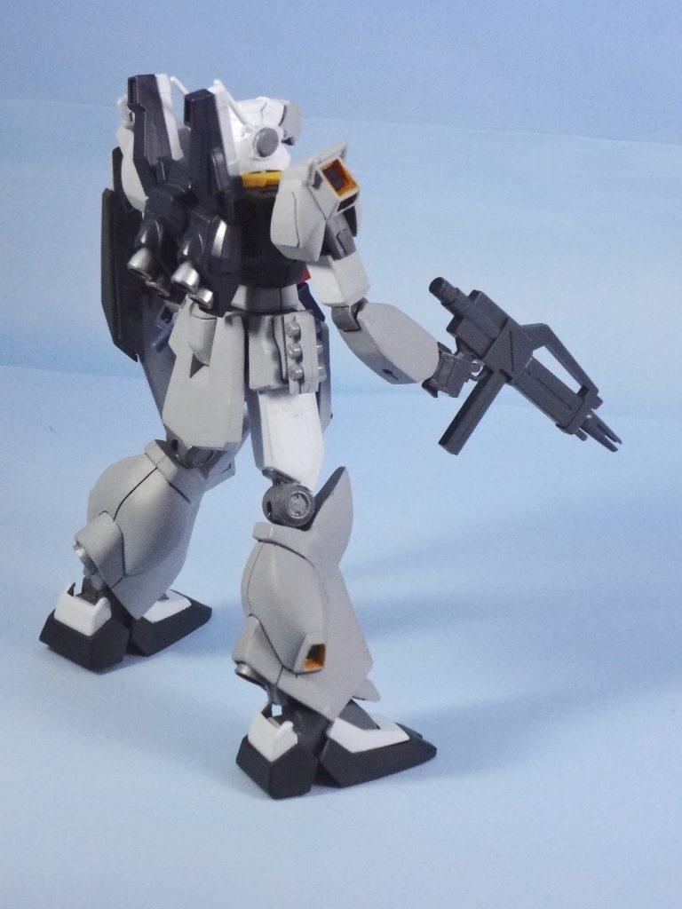 RGM-90 ジェダ改良型(制式採用機) 【1/144旧キット・HGUC改造】  アピールショット7