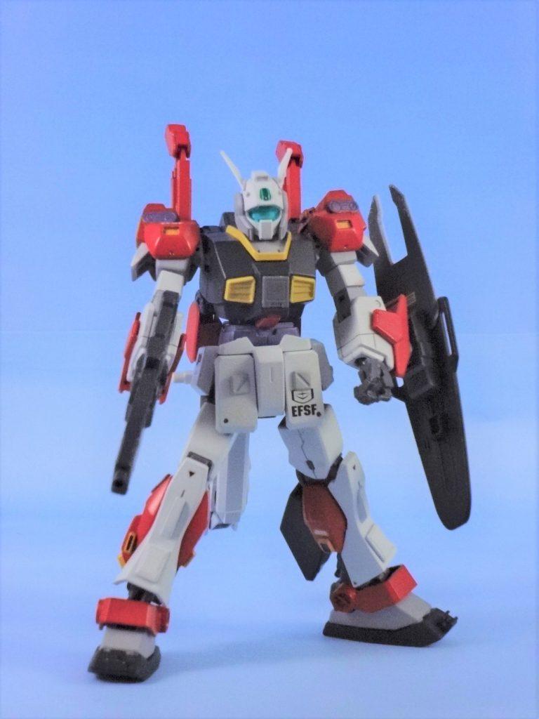 MSA-003-LA ネモ・ライトアーマー 【HGUC改造】  アピールショット1