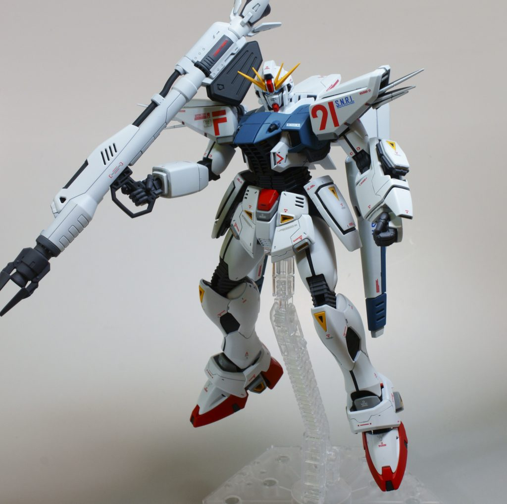 MG ガンダムF91 ver2.0 アピールショット2
