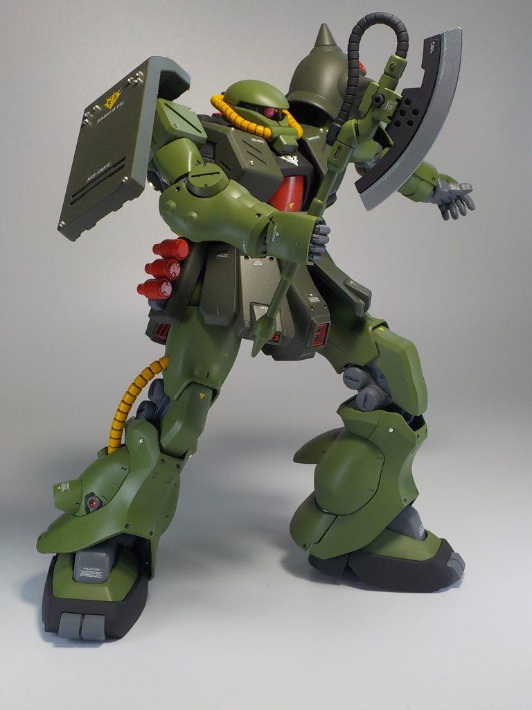 REザクⅡ改 全塗装 アピールショット2