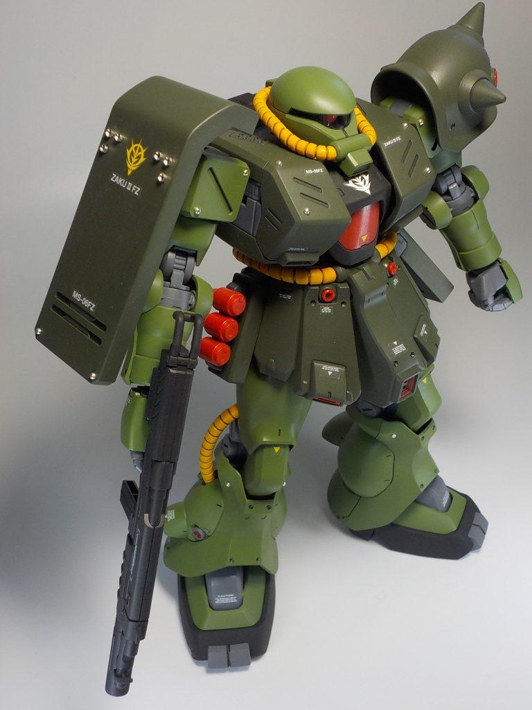 REザクⅡ改 全塗装 アピールショット1