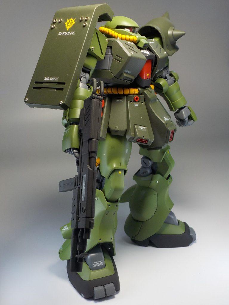 REザクⅡ改 全塗装 アピールショット4