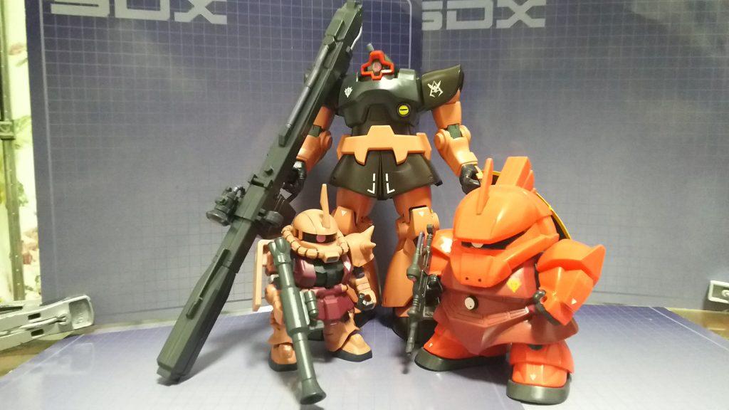 YMS-14 シャア専用ゲルググ アピールショット4