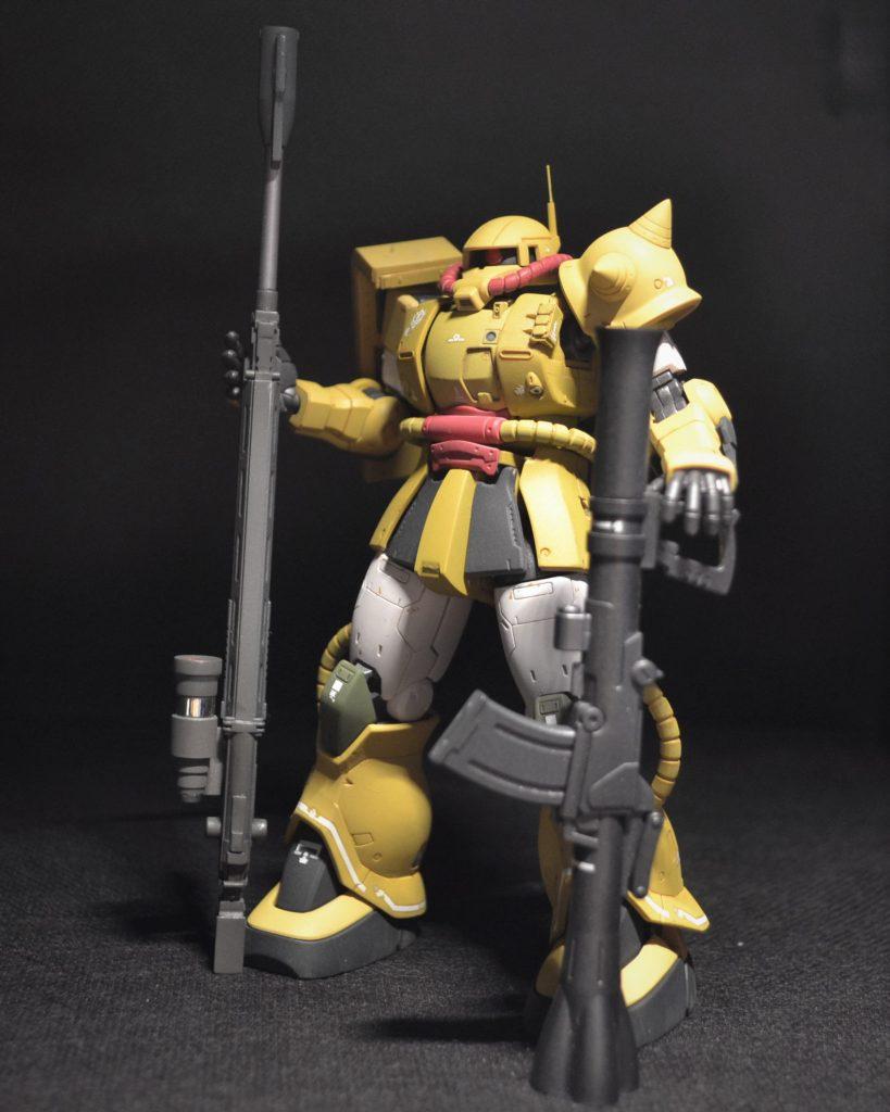 【仮】ザクⅡ砂漠戦改修仕様 アピールショット2