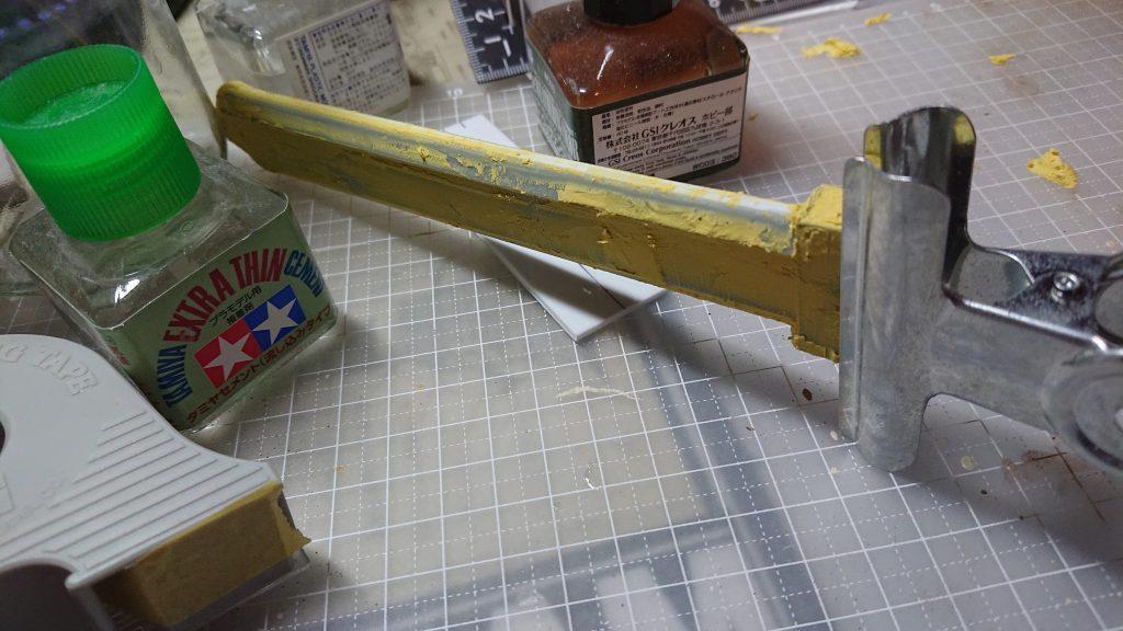 黒鉄の剣士 バルバトスルプス 制作工程3