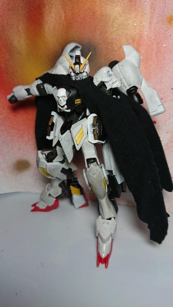 鉄血版宇宙海賊 ASW-G07 ガンダム・アモン アピールショット2