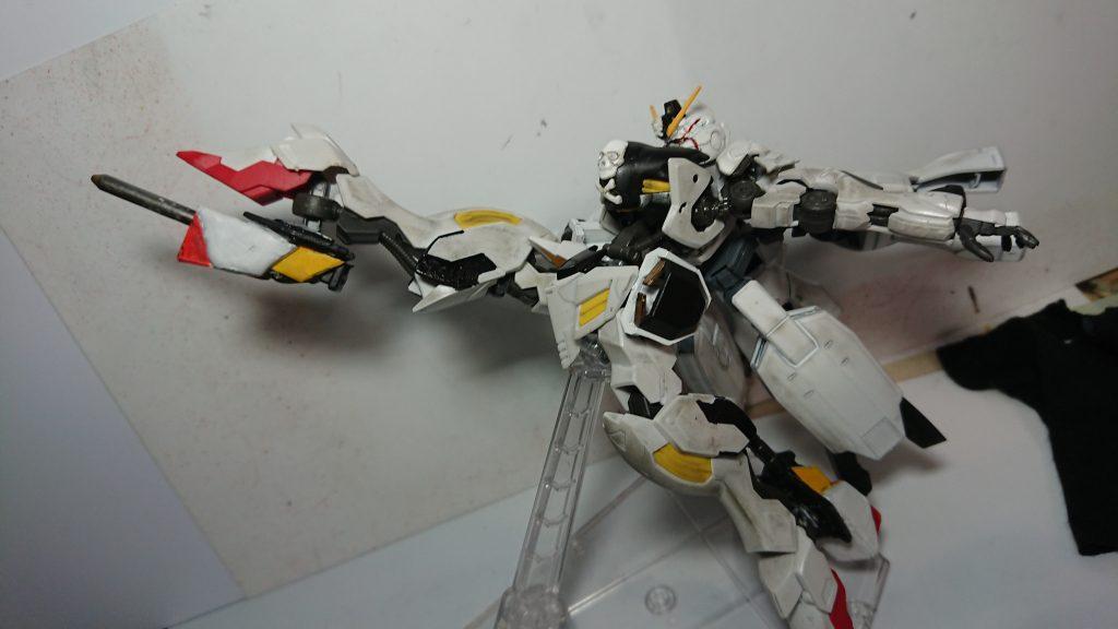 鉄血版宇宙海賊 ASW-G07 ガンダム・アモン 制作工程3