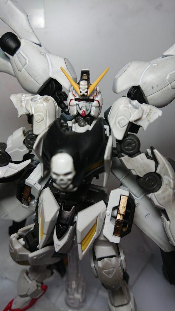 鉄血版宇宙海賊 ASW-G07 ガンダム・アモン アピールショット1