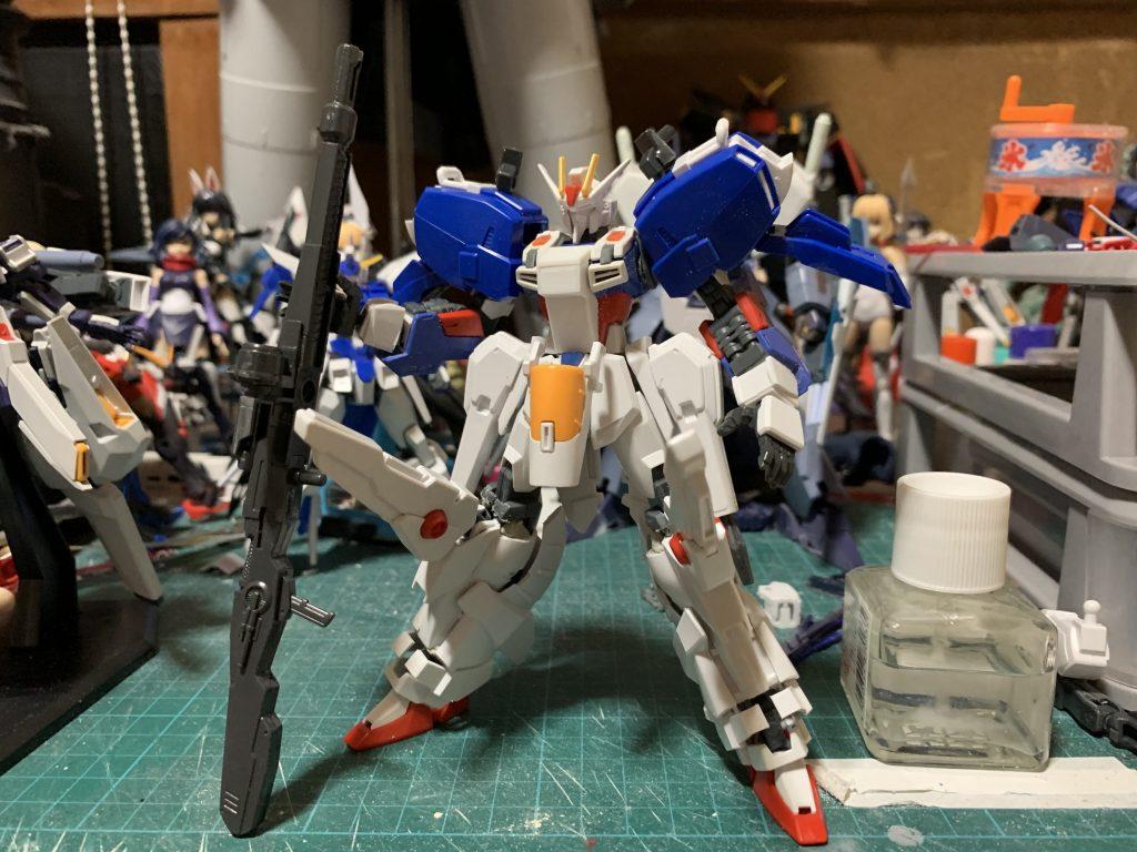 EX-ストライクガンダム 制作工程2