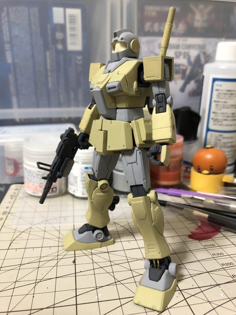 RGM-79L ジム・ライトアーマー 制作工程3