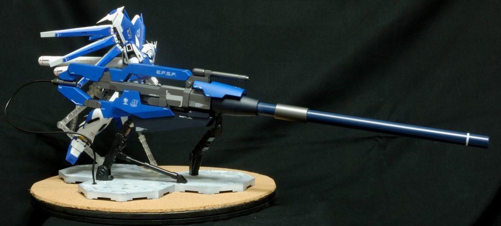 マスターグレード Hi-νガンダム(HWS) ハイパーメガバズーカランチャー装備型 アピールショット1