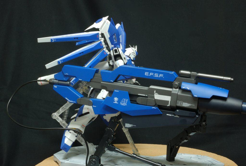 マスターグレード Hi-νガンダム(HWS) ハイパーメガバズーカランチャー装備型 アピールショット2