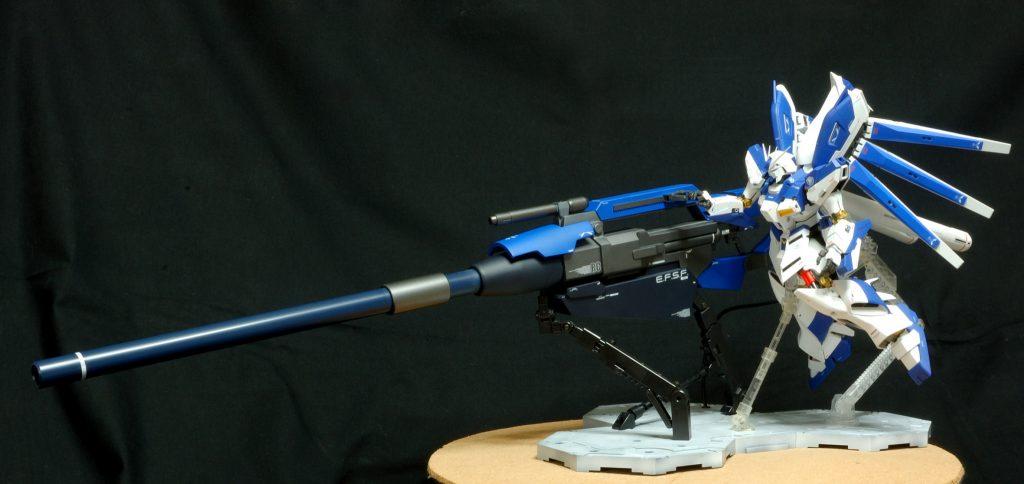 マスターグレード Hi-νガンダム(HWS) ハイパーメガバズーカランチャー装備型 アピールショット4
